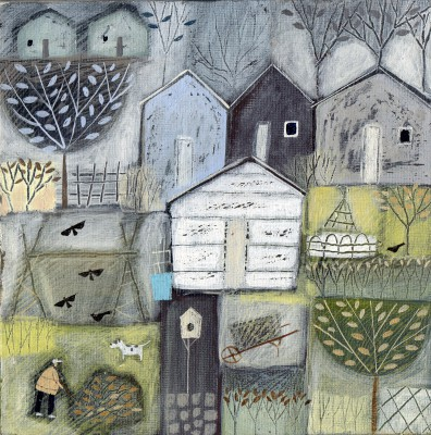 Louise RAWLINGS - The Old Sheds