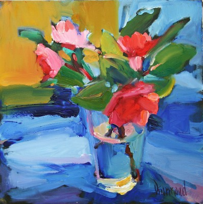 Marion DRUMMOND, contemporary artist - Camellia