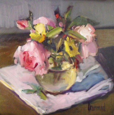 Marion DRUMMOND - A Posy from my Garden