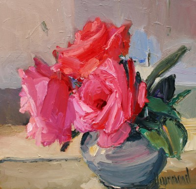 Marion DRUMMOND, contemporary artist - Tea Roses