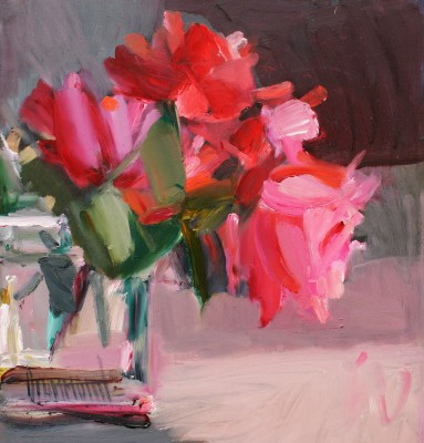 Marion DRUMMOND, contemporary artist&nbsp;-&nbsp;<span style='color:red;font-size: 200%'>&#8226;</span> Hybrid Teas