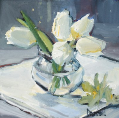 Marion DRUMMOND - White Tulips