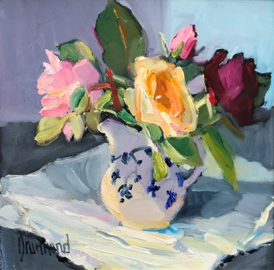 Marion DRUMMOND - Fresh from the Garden - Roses