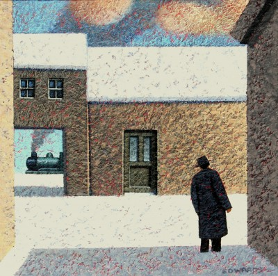 Modern Artist Mark EDWARDS - Waiting For The Others