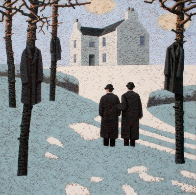 Modern Artist Mark EDWARDS - Waiting To Be Called