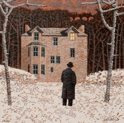 Modern Artist Mark EDWARDS - Waiting For The Light To Go Off