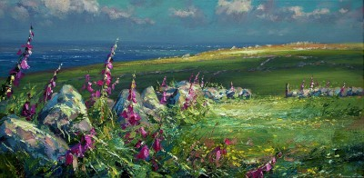 Mark PRESTON - Foxgloves, Rosemergy