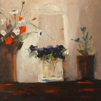 Mary DAVIDSON - Mixed Flowers