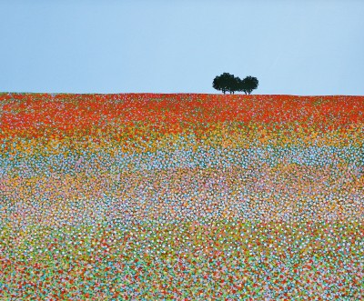 Modern Artist Michael KIDD - Field of Summer