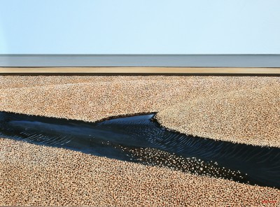 Towards the Sea painting by artist Michael KIDD