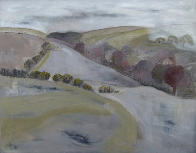 Miranda GARDINER - Mist Coming Down on Owley Corner