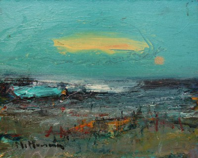 Modern Artist Nael HANNA - Evening at Angus Shoreline
