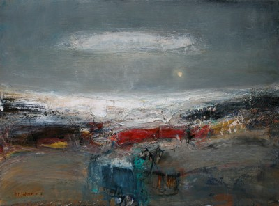 Modern Art from artist - Nael HANNA - Road to Stonehaven