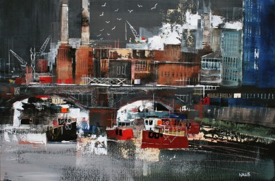 Nagib KARSAN - Battersea Power Station and the Thames