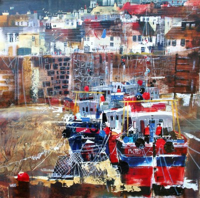 Nagib KARSAN - Fishing Fleet, Polperro
