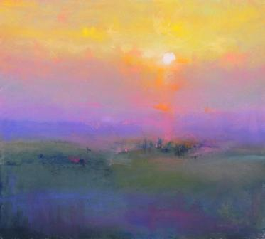 Modern Artist Norman SMITH - One Tuscan Evening