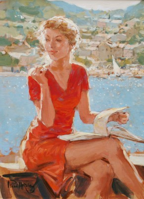 Modern Art from artist - Paul HEDLEY - Holiday Reading