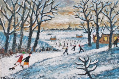 Paul ROBINSON - Winter Scene