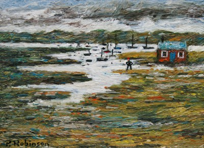 Modern Artist Paul ROBINSON - King of the Marshes
