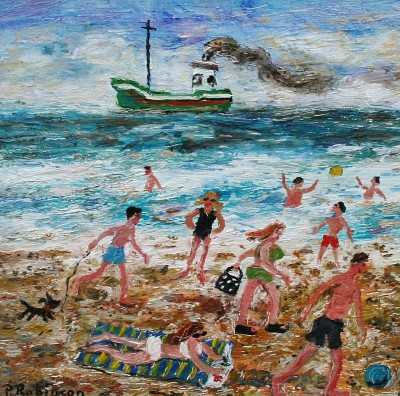 Modern Artist Paul ROBINSON - There is No End of Things One Can Do on a Beach