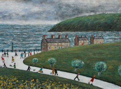 Modern Artist Paul ROBINSON - The Long Path Home