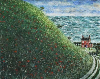 Modern Artist Paul ROBINSON - House by the Sea