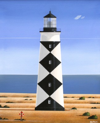 Cape Lookout painting by artist Peter HEARD