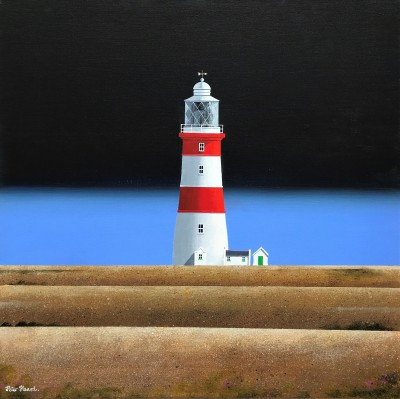 Orfordness Light painting by artist Peter HEARD