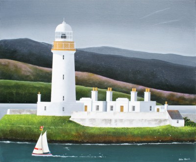 Modern Artist Peter HEARD - Lismore Light