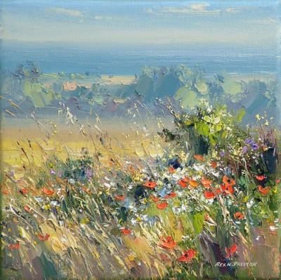 Rex PRESTON - Sunny Morning, Norfolk Coast