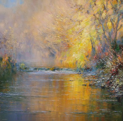 Rex PRESTON - Autumn Reflections, Dovedale