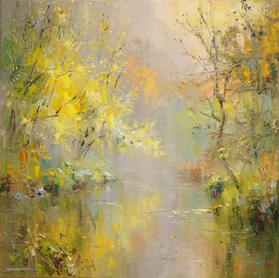 Rex PRESTON - Late October, Wye Dale
