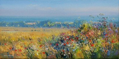 Rex PRESTON - Summer Morning, Norfolk Coast