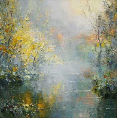 Rex PRESTON - Autumn Mist, Wye Dale