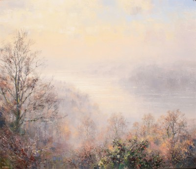 Rex PRESTON, contemporary artist - <span style='color:red;font-size: 200%'>•</span> Early Morning, Windermere