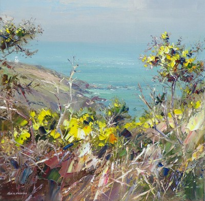Rex PRESTON - Gorse, Portheras Cove, Cornwall
