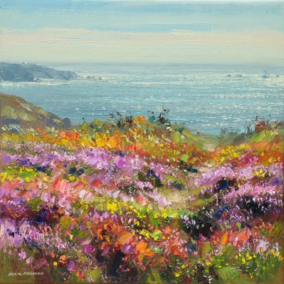 Rex PRESTON - August Flora, Carn Gloose, Cornwall