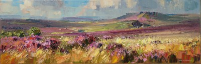 Rex PRESTON - Summer Moorland, Peak District