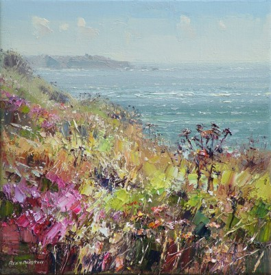 Rex PRESTON, contemporary artist - August Afternoon, Towards Lands End
