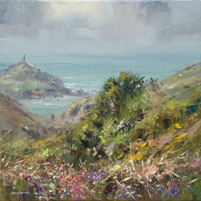 Soft Light, Cape Cornwall painting by artist Rex PRESTON