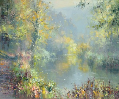 Rex PRESTON - Autumn Reflections, Miller's Dale