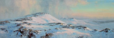 Modern Artist Rex PRESTON - Winter's Afternoon, Stanage Edge