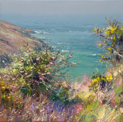 Rex PRESTON - Apple Blossom, Portheras Cove, Cornwall