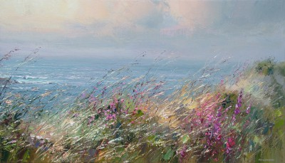 Modern Artist Rex PRESTON - Cornish Breeze