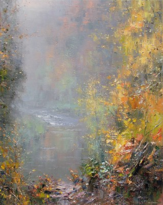Modern Artist Rex PRESTON - Autumn Leaves, Chee Dale
