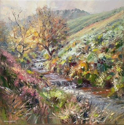 Modern Artist Rex PRESTON - Early Autumn, Fairbrook