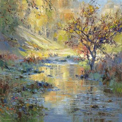 Rex PRESTON - Autumn Sunlight, Biggin Dale