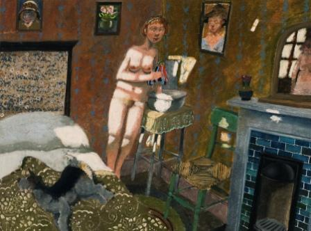 Modern Artist Richard ADAMS - The Bedroom