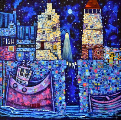 Modern Artist Ritchie COLLINS - Auld Port Blues