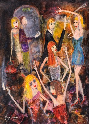 Dance Moves painting by artist Rosa SEPPLE